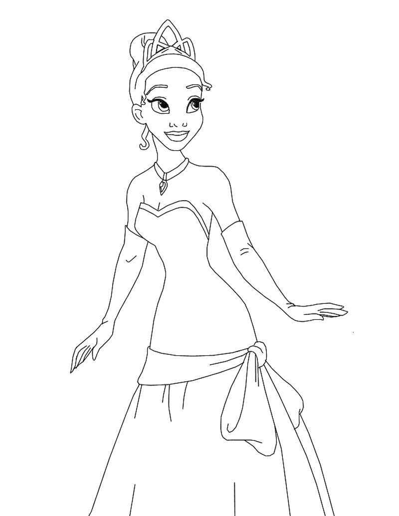 Princess coloring #2, Download drawings