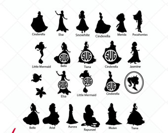 Princess svg #12, Download drawings
