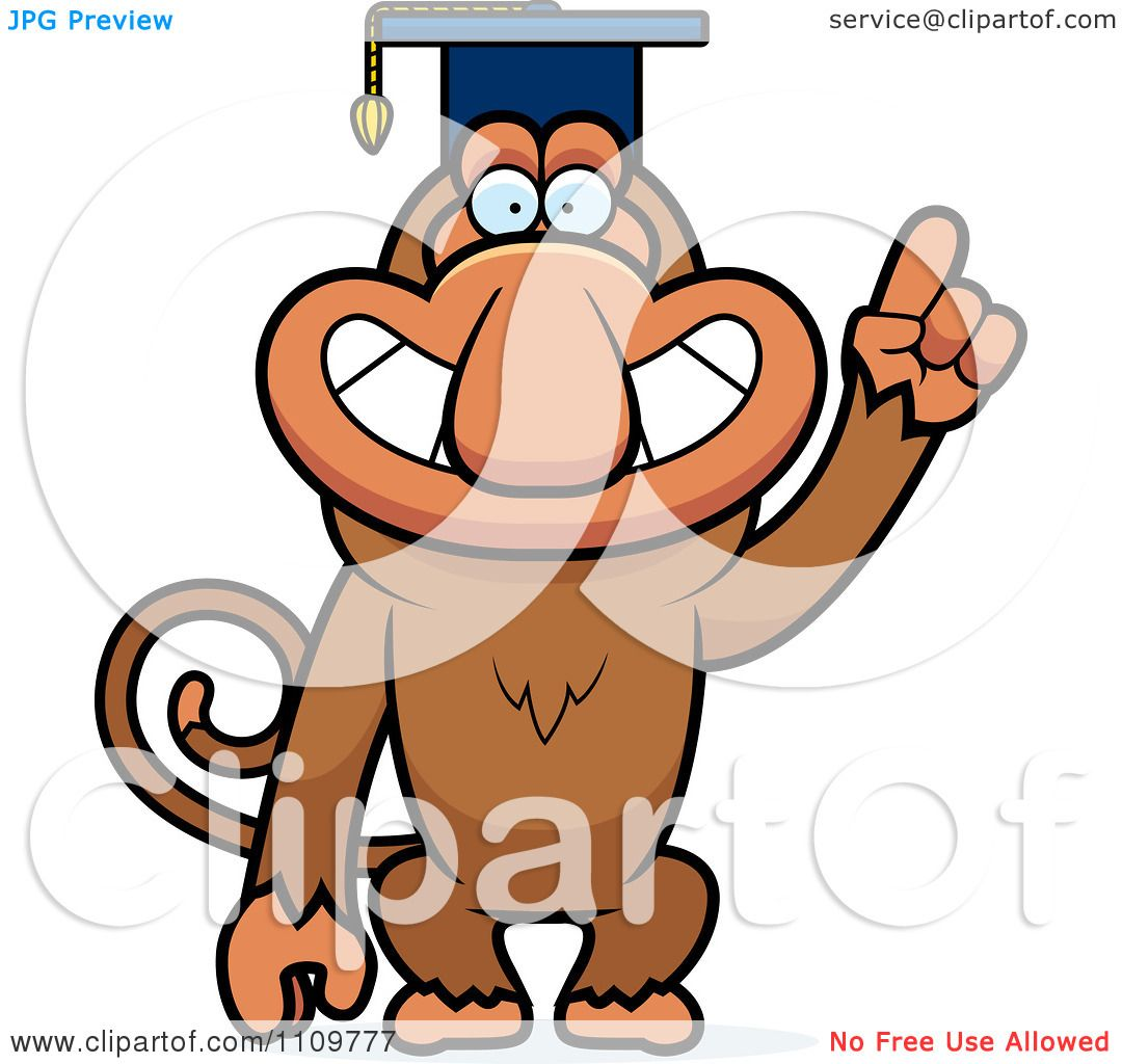 Proboscis Monkey clipart #6, Download drawings