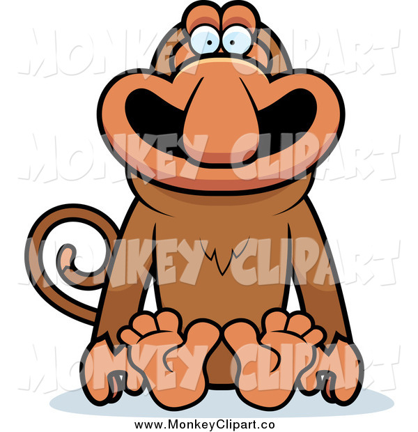Proboscis Monkey clipart #16, Download drawings
