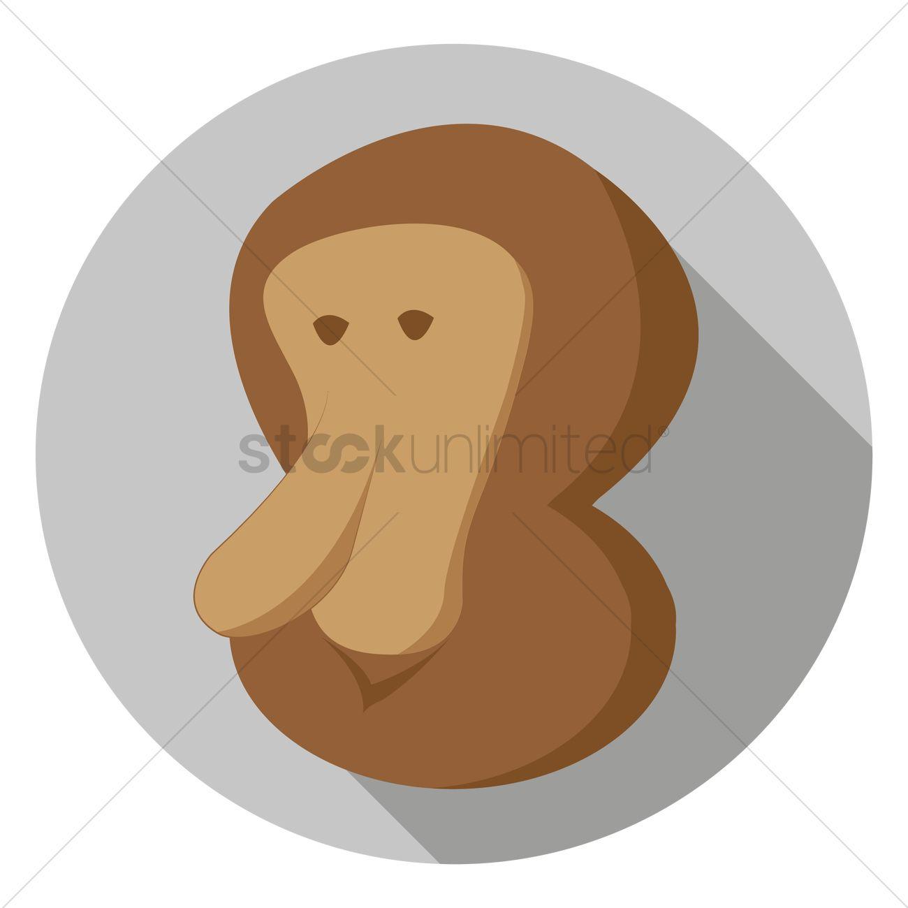 Proboscis Monkey svg #8, Download drawings