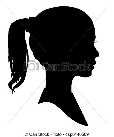 Ponytail clipart #4, Download drawings