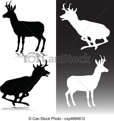 Pronghorn Antelope clipart #11, Download drawings