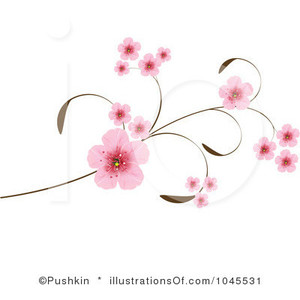 Prunus Blossom clipart #12, Download drawings