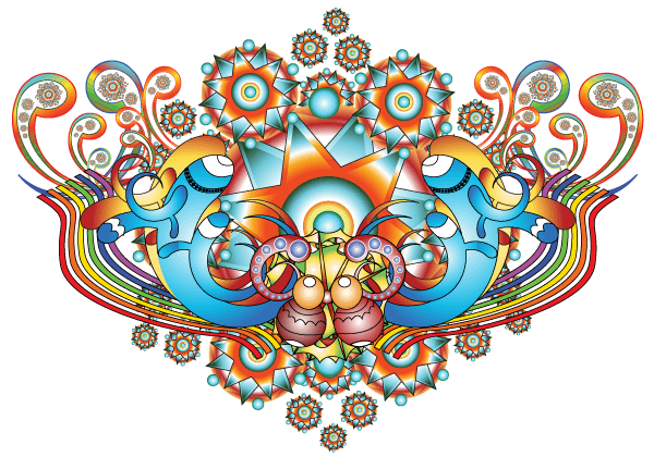 Psychedelic clipart #13, Download drawings