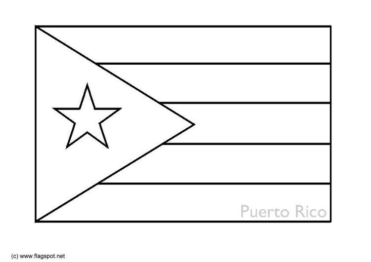 Puerto Rico coloring #3, Download drawings