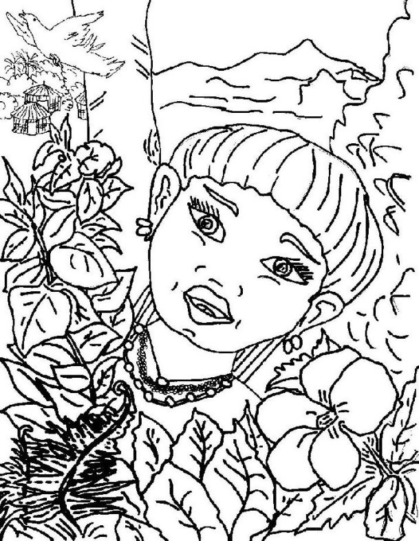 Puerto Rico coloring #5, Download drawings
