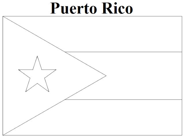 Puerto Rico coloring #10, Download drawings