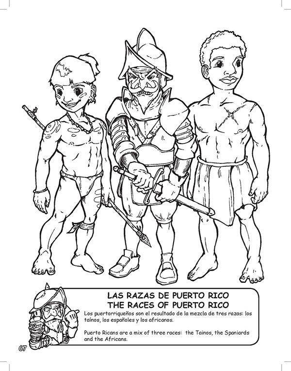 Puerto Rico coloring #1, Download drawings
