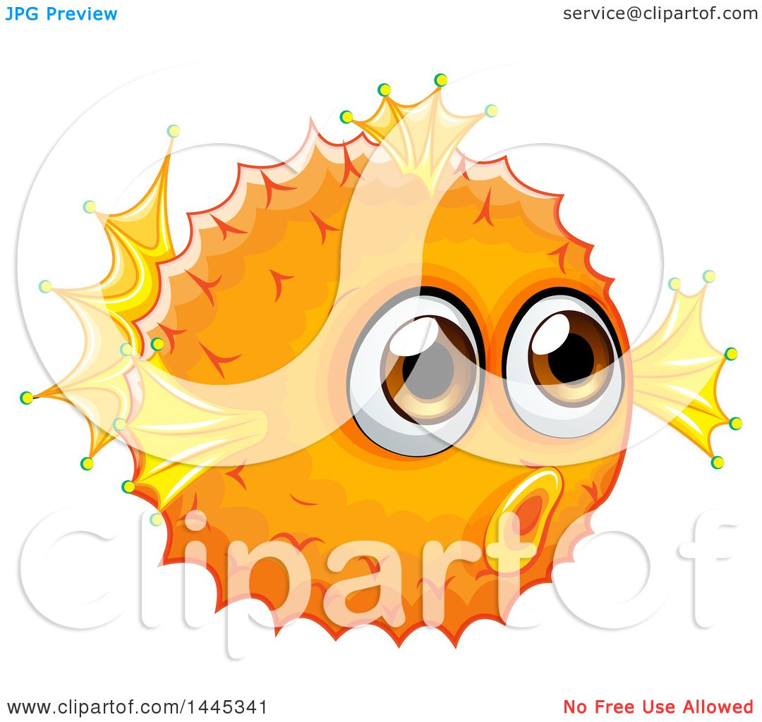 Pufferfish clipart #5, Download drawings