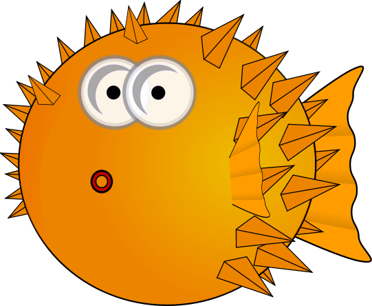 Pufferfish clipart #18, Download drawings
