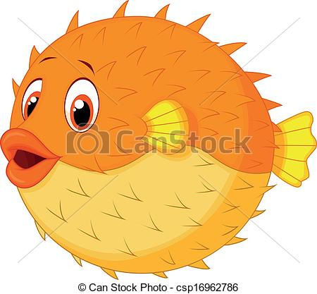 Pufferfish clipart #17, Download drawings