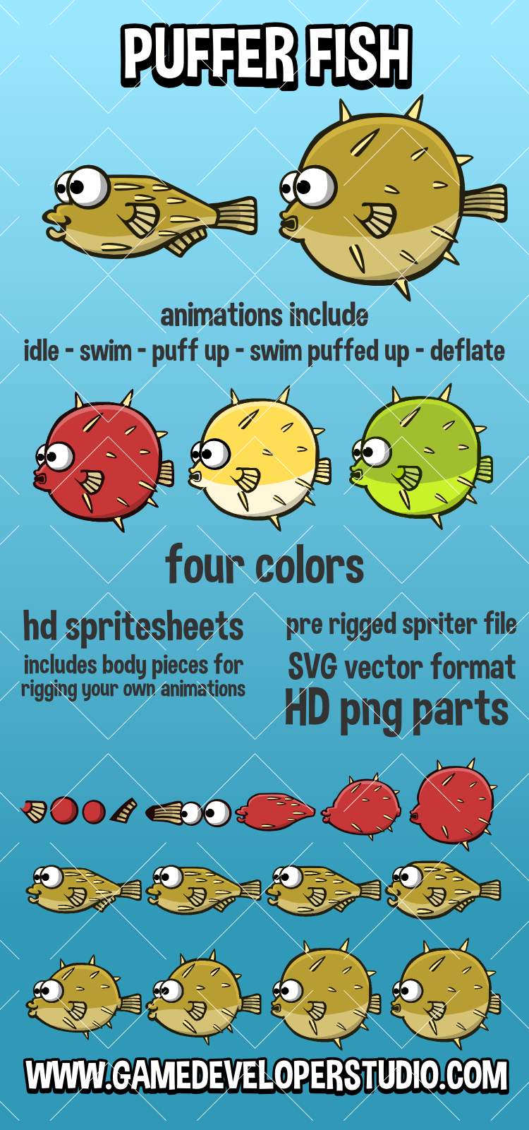 Pufferfish svg #1, Download drawings