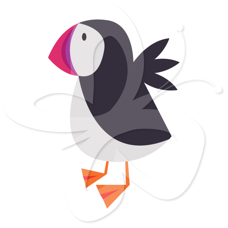 Puffin clipart #2, Download drawings