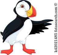 Puffin clipart #1, Download drawings