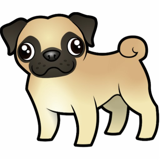 Pug clipart #19, Download drawings