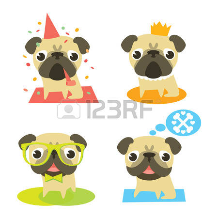 Pug clipart #6, Download drawings