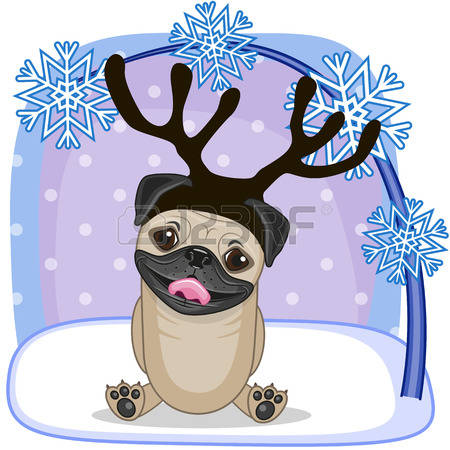 Pug clipart #9, Download drawings