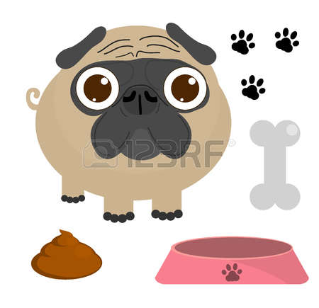 Pug clipart #7, Download drawings