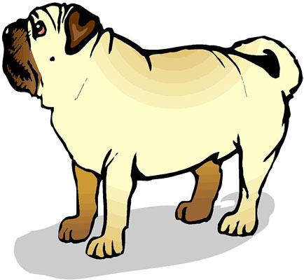 Pug clipart #11, Download drawings