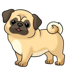 Pug clipart #20, Download drawings