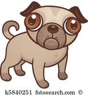 Pug clipart #17, Download drawings