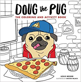 Pug coloring #3, Download drawings