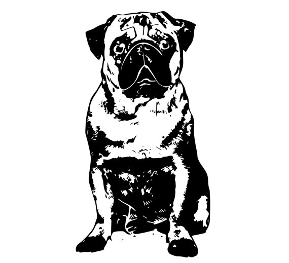 Pug svg #7, Download drawings
