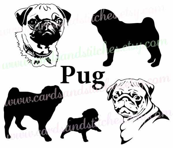 Pug svg #12, Download drawings