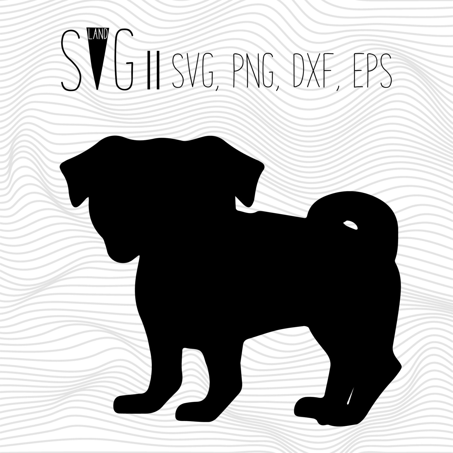 Pug svg #15, Download drawings