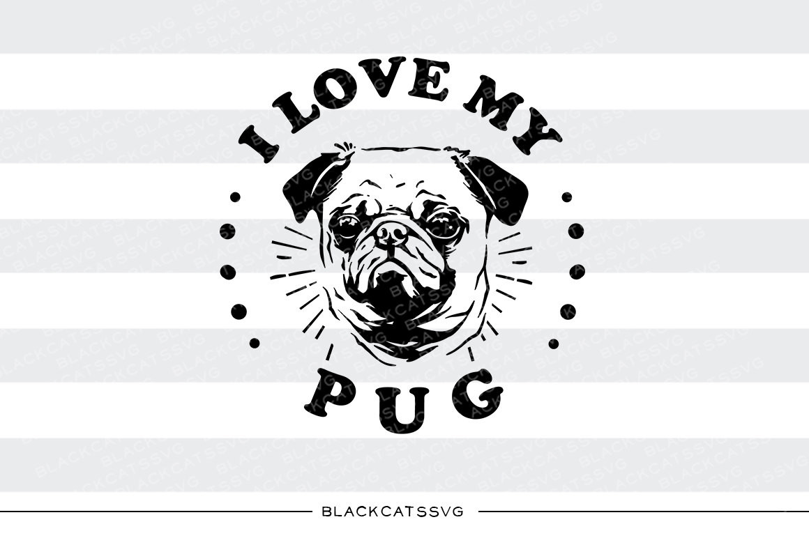 Pug svg #13, Download drawings