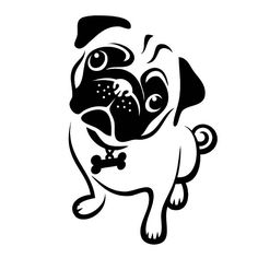 Pug svg #4, Download drawings