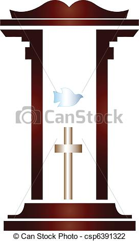Pulpit clipart #6, Download drawings