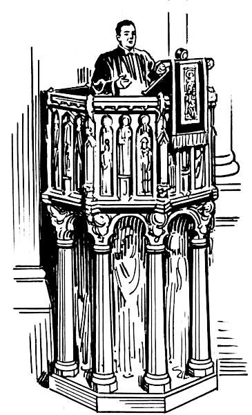 Pulpit clipart #4, Download drawings