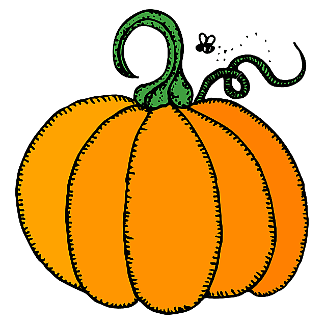 Pumpkin clipart #2, Download drawings
