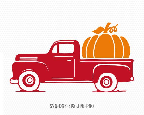pumpkin truck svg #801, Download drawings