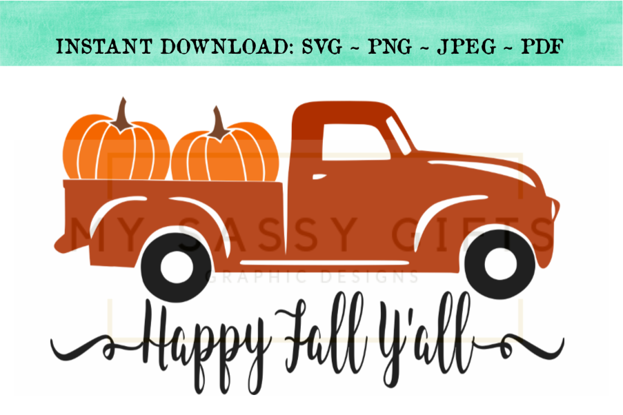 pumpkin truck svg #806, Download drawings