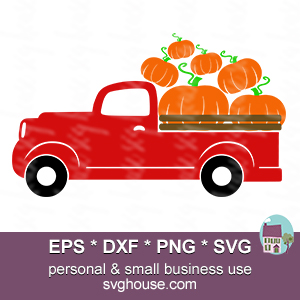 pumpkin truck svg #804, Download drawings