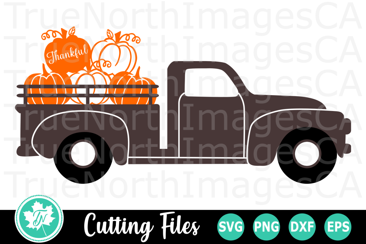 pumpkin truck svg #807, Download drawings