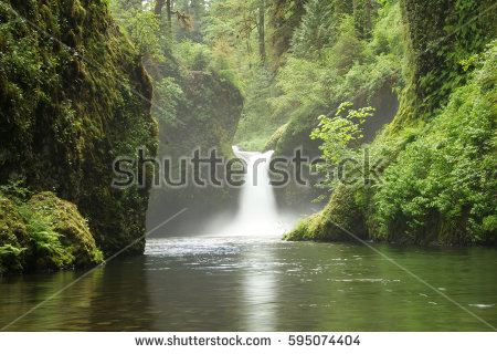Punch Bowl Falls clipart #1, Download drawings