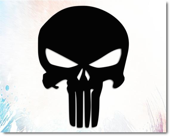 punisher skull svg #1038, Download drawings