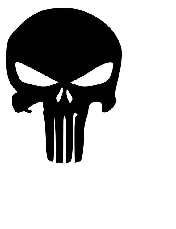 punisher skull svg #1039, Download drawings
