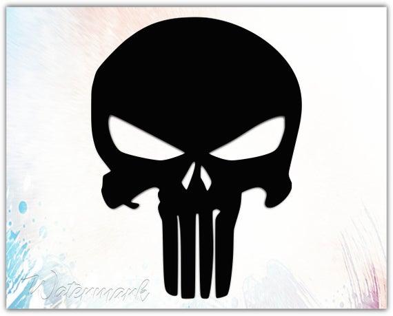 punisher skull svg #1037, Download drawings