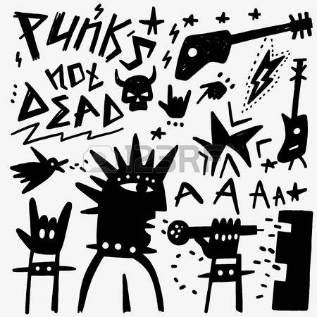 Punk clipart #5, Download drawings
