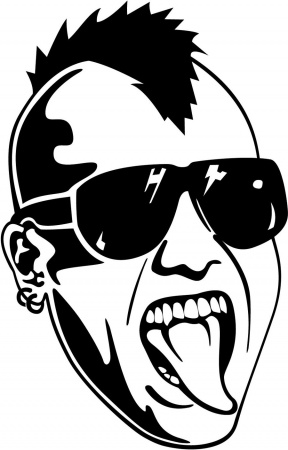 Punk clipart #2, Download drawings