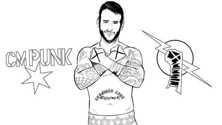 Punk coloring #10, Download drawings