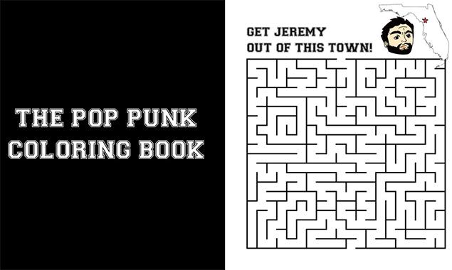 Punk coloring #6, Download drawings