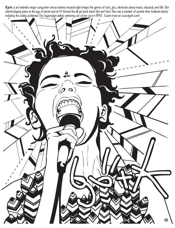 Punk coloring #7, Download drawings