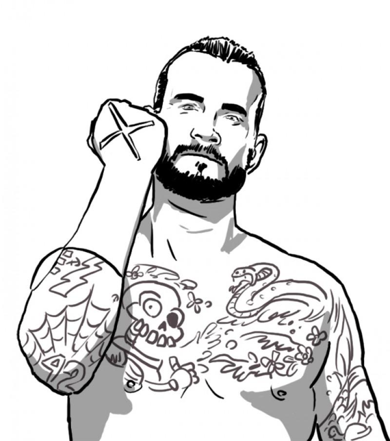 Punk coloring #13, Download drawings
