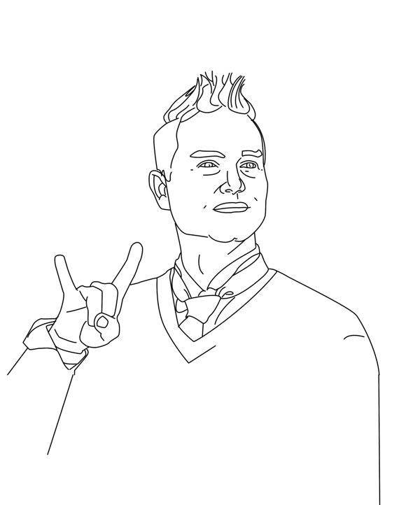 Punk coloring #17, Download drawings
